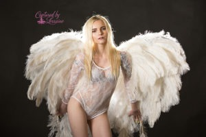 Angel Wings Boudoir Photos