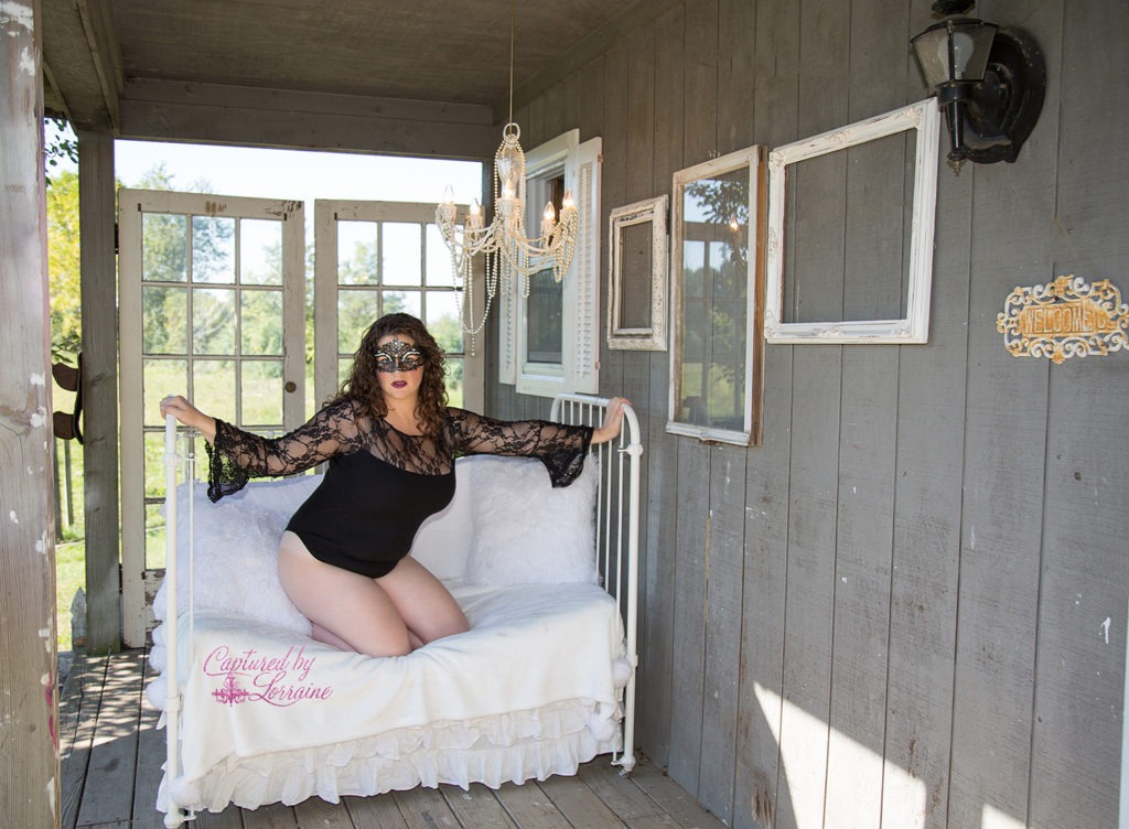 Outdoor Boudoir Batavia Illinois
