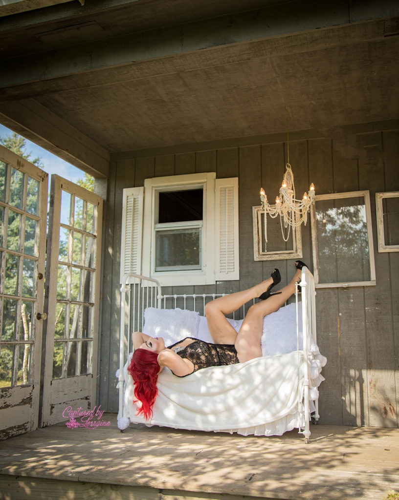 Outdoor Boudoir Huntley Illinois