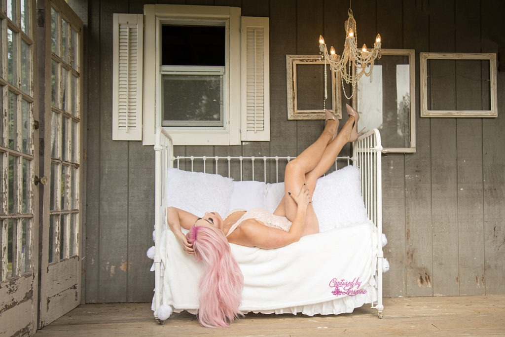 Outdoor Boudoir St Charles Illinois