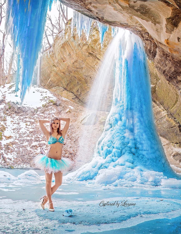 Frozen Elsa Disney Boudoir Outdoors